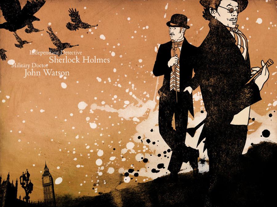 Sherlock Holmes Wallpaper III By Paperflower86 On DeviantArt