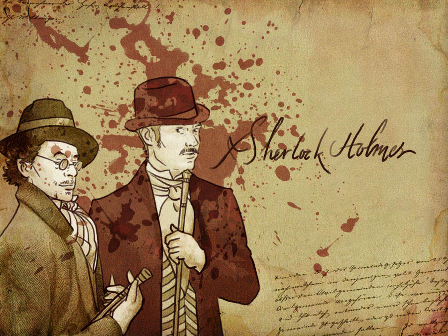 Sherlock Holmes Wallpaper IV By Paperflower86