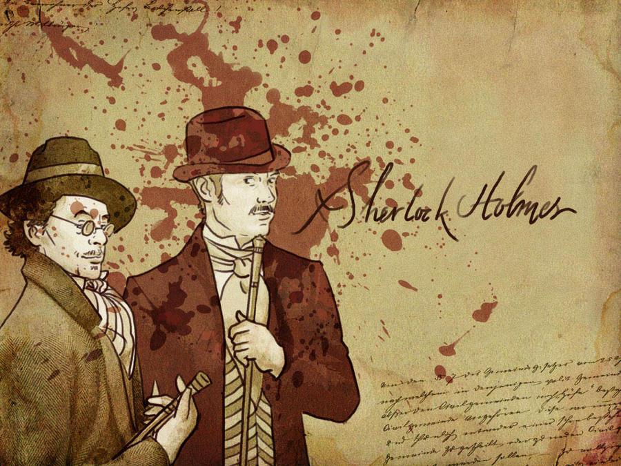 Sherlock Holmes Wallpaper IV By Paperflower86
