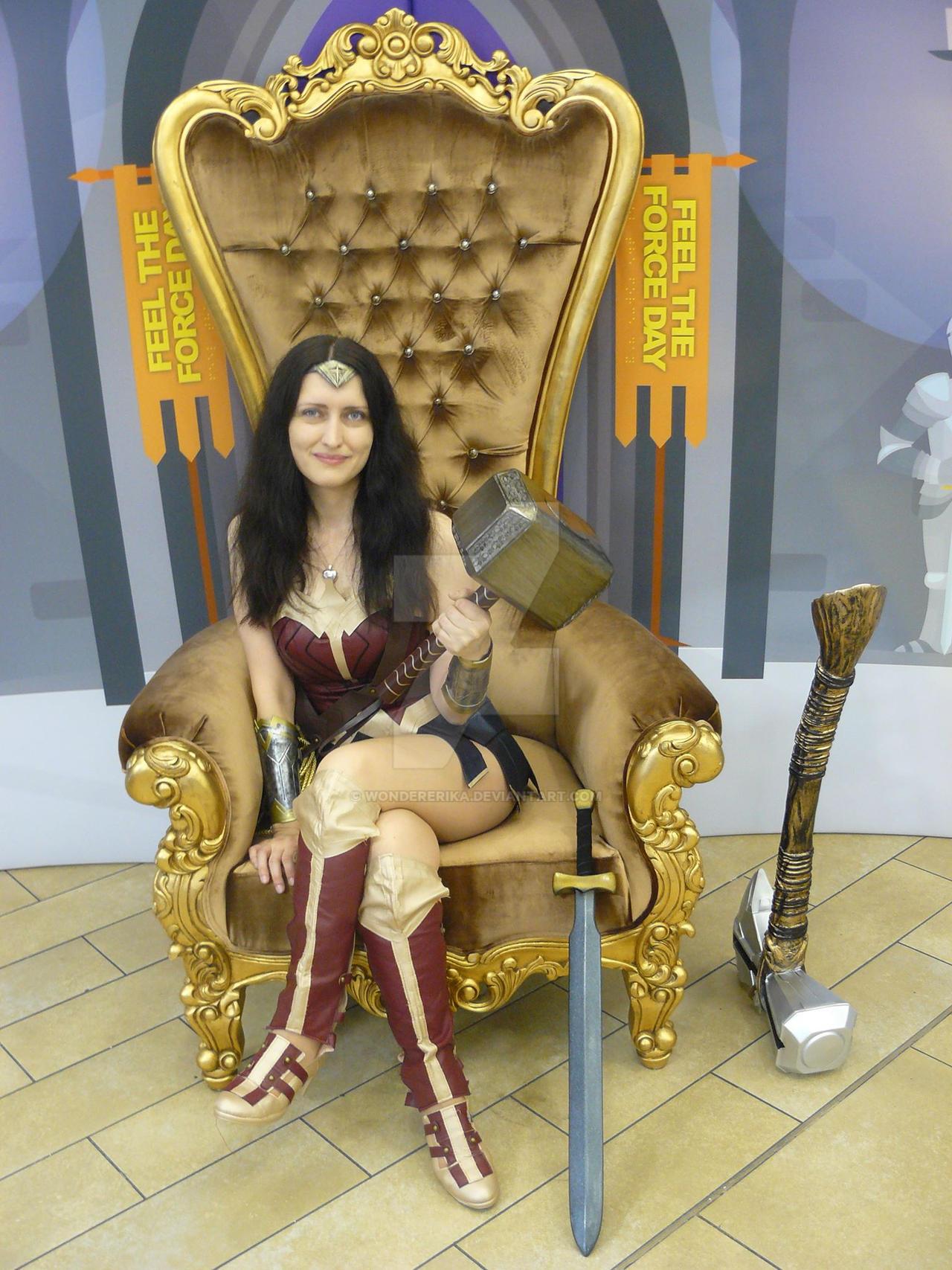 On My Throne