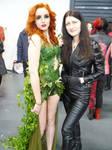 Poison Ivy VS Black Canary
