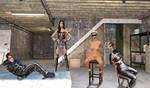 Wonder Erika VS Black Canary by WonderErika