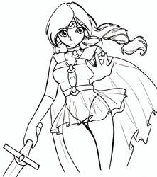 Sailor Ragea by DragonAlloy
