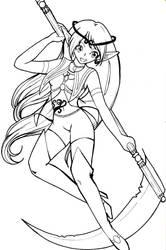 Sailor Epsilon Eridani b by DragonAlloy
