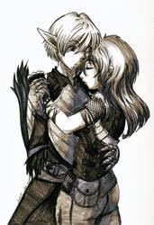 Fenris Couple by DragonAlloy