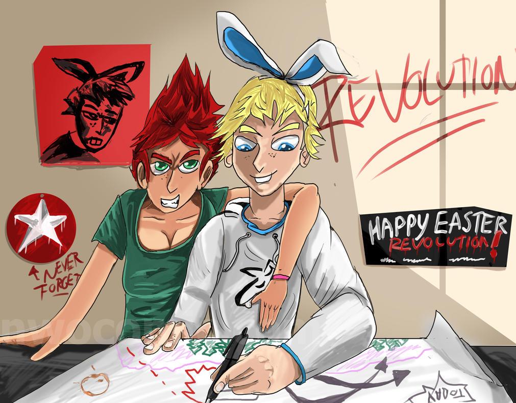 Happy Easter Revolution by Tahkyn