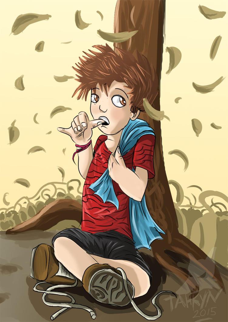Linus in the Fall by Tahkyn