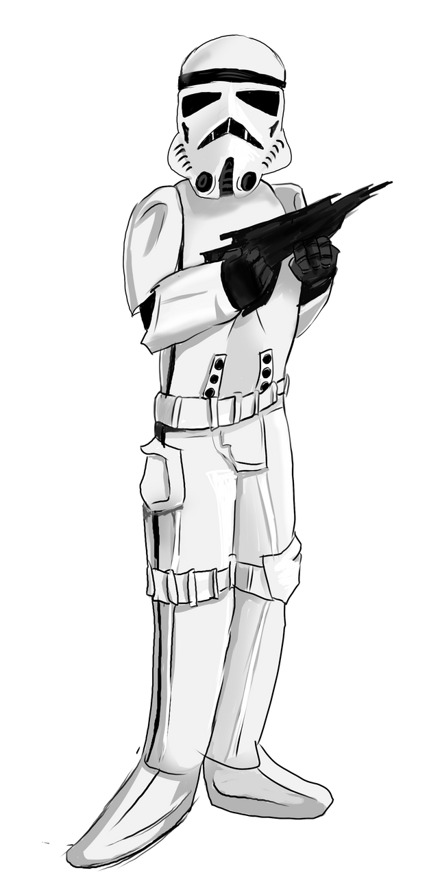 Classic Trilogy Storm Trooper by Tahkyn