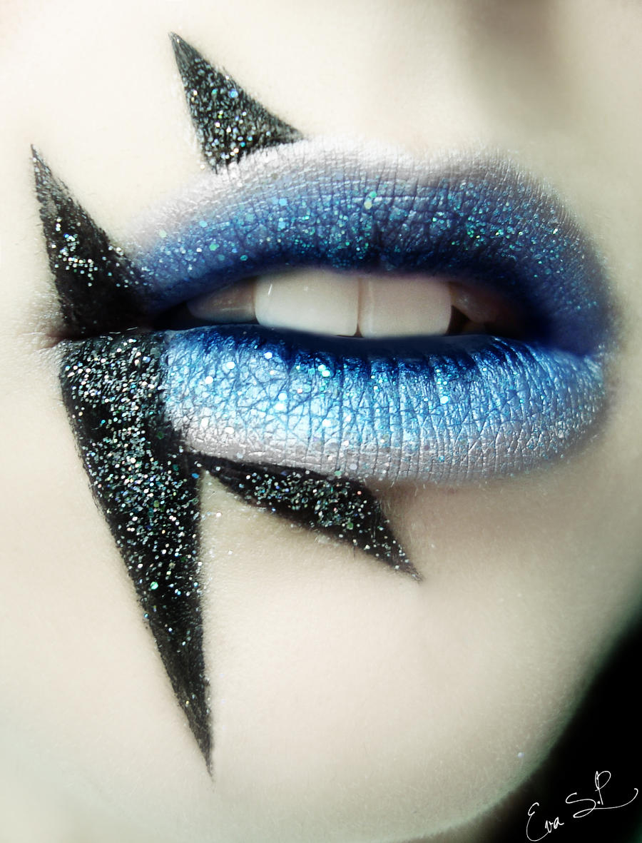 Lady Gaga inspired lips by Chuchy5