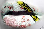 Crime Scene lip art