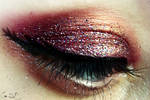 Girl on Fire Halloween Makeup