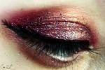 Girl on Fire Halloween Makeup