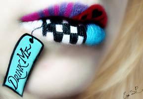 Alice Lip Art by Chuchy5