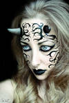 The Succubus Possession Halloween Makeup