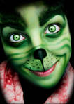 Merry Xmas (Grinch Makeup)