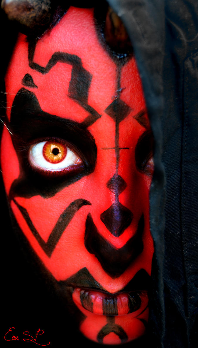 Darth Maul Makeup by Chuchy5