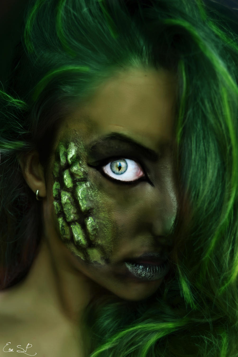 Night Creatures VI: The Dragon (sfx makeup) by Chuchy5