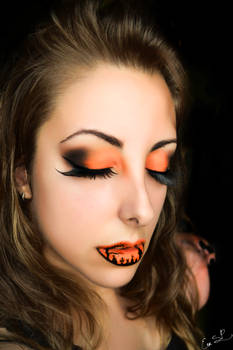 Whispers beyond the grave (Cemetery lip art)