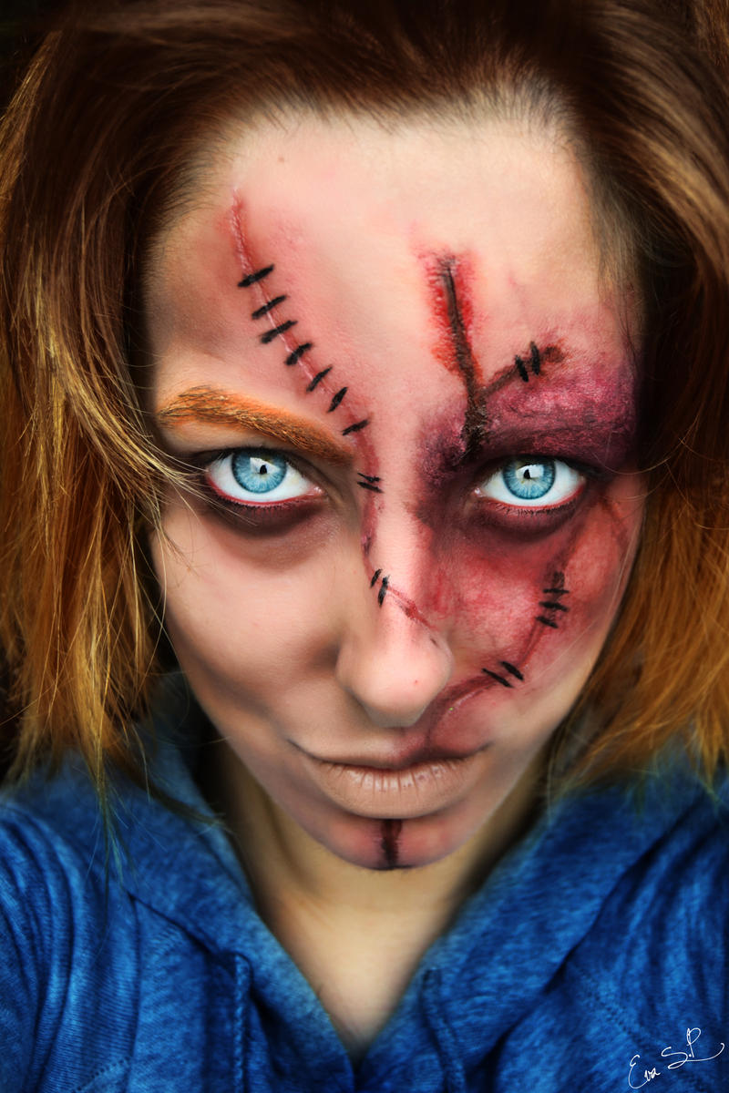 Chucky Halloween MakeUp by Chuchy5 on DeviantArt