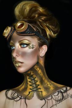 Steampunk 2015 Makeup