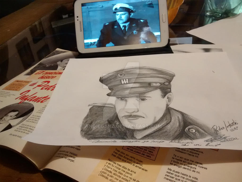 Pedro Infante- Idol By Angiegsnz On DeviantArt