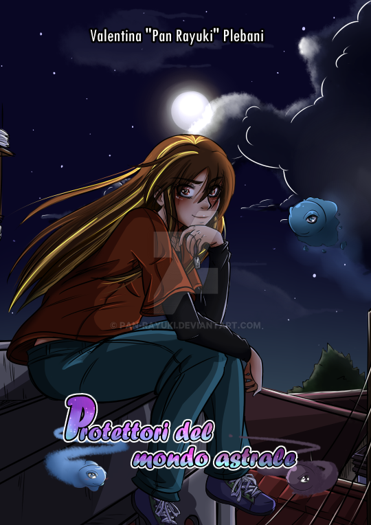 Official Cover Protettori del mondo astrale by Pan-Rayuki