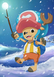 Tony Tony chopper by Tenryuushi