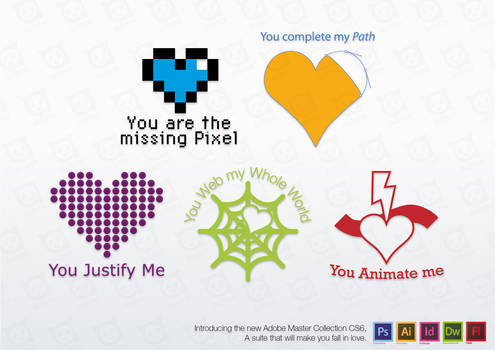 Adobe - Your favorite suite heart