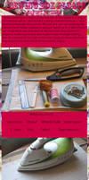 Sewing box pleats