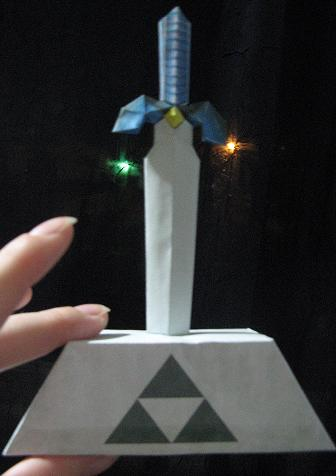 Papercraft Zelda Master Sword By Inuyashashotty