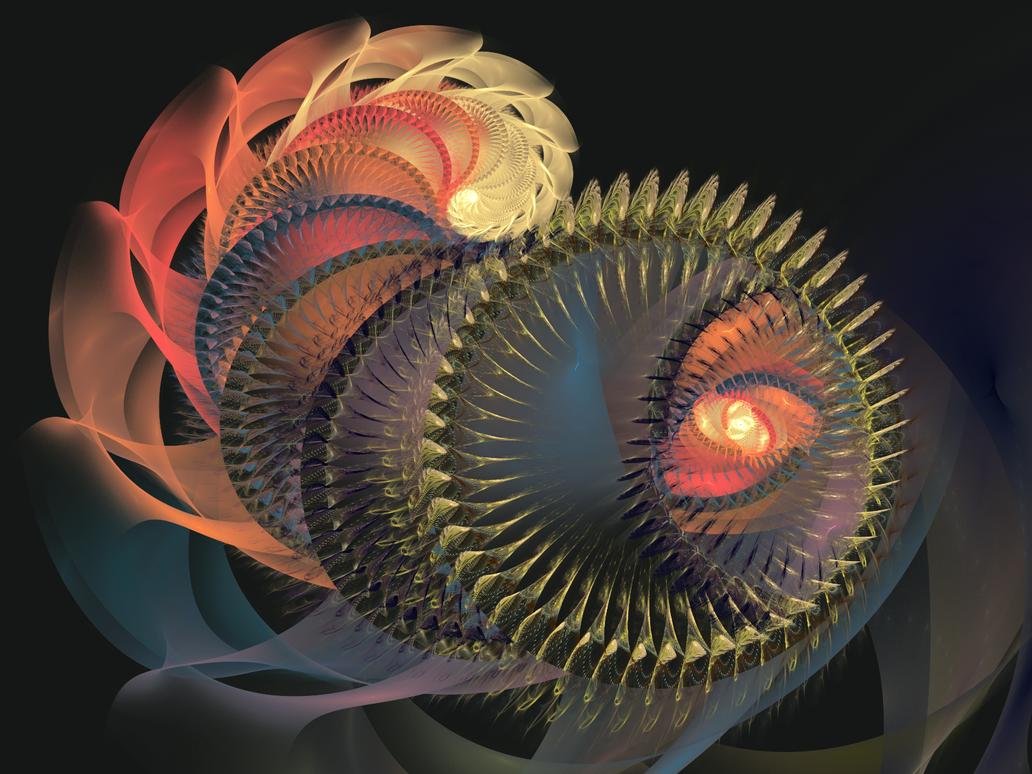 Sea Worm in Courtship Attire by Tibodo