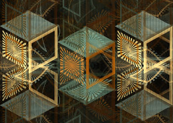 Sliced Cubes by Tibodo