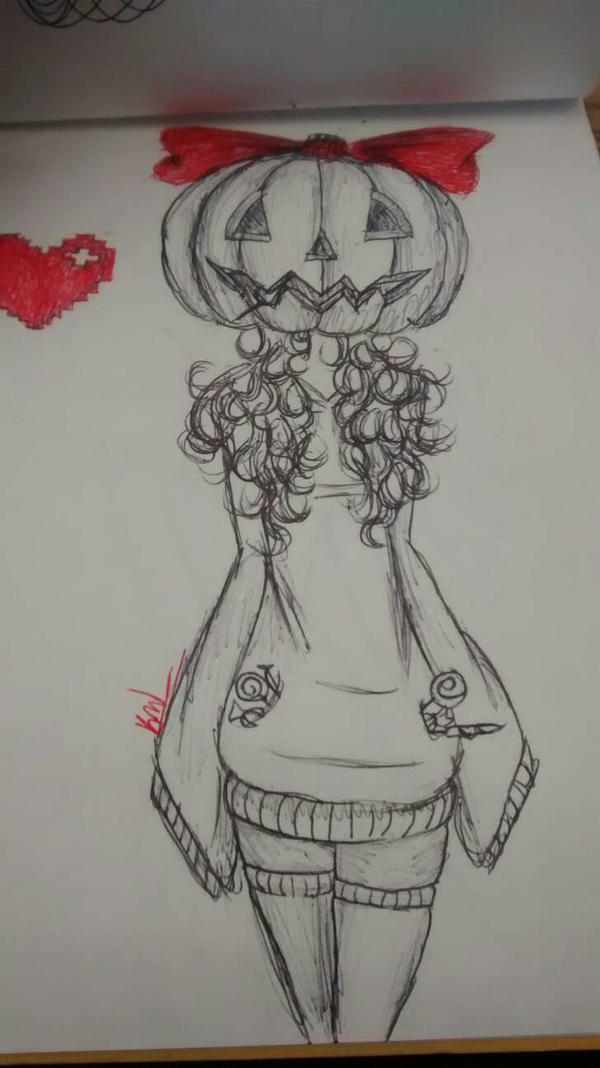 Pumpkin Head TRADITIONAL by keira092803