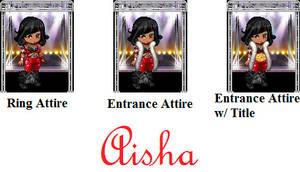 TekTek Wrestler: Aisha Profile