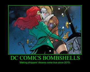 DC Comics Bombshells Poster by Jyger85