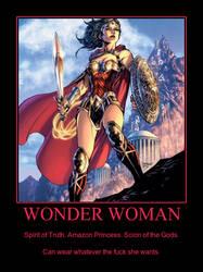 Wonder Woman Poster by Jyger85
