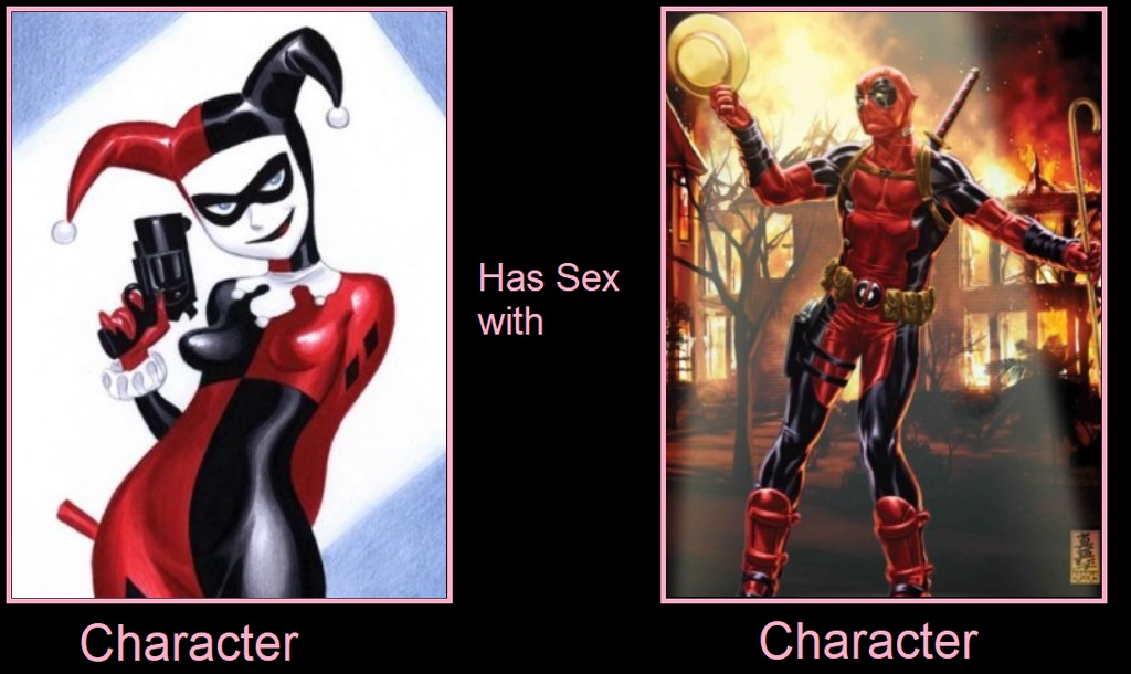 What If Harley Quinn Had Sex With Deadpool by Jyger85