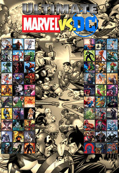 Jyger's Ultimate Marvel vs DC Roster