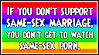 Same-Sex Marriage Stamp by Jyger85