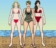 Jen, Scarlet, and Anna HM3