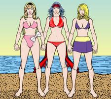 Jeannie, Samantha, and Cassie HM3