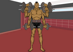 Reacher Working Out