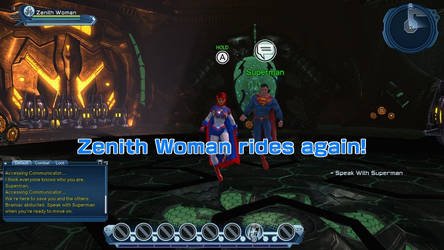 Zenith Woman Rides Again in DCUO for the Switch
