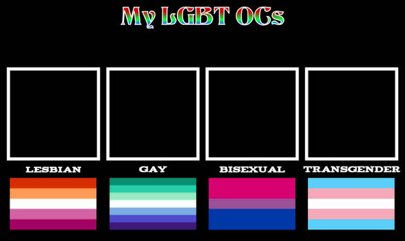 My LGBT OCs Template