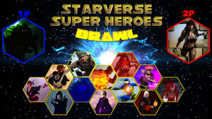 Starverse Super Heroes Brawl - Character Select