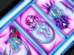 Commission : Sparkling's trio