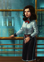 Fan Art - Burial At Sea by Crumbelievable