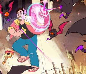 Fanart - Steven Universe by Crumbelievable