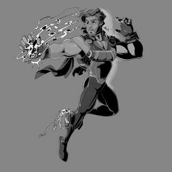 Inktober 2019 - Hero