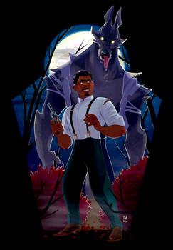 Spooky Season Art 2 - Werewolf